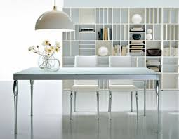 modern home interior design crate and barrel dining table