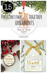 15 first christmas together ornaments 2016 etsy gift guide