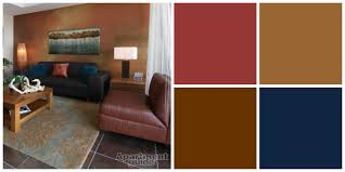 small living room with earth tone color palette paint decofurnish
