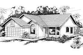 spanish style house plans arcadia 11 003 associated designs