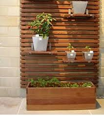 outdoor wood wall garden western cedar slatted screens huis