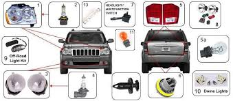 2004 jeep grand cherokee tail light assembly jeep grand cherokee wk lights 05 17 grand cherokee morris 4x4 center