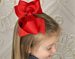 big bows for hair hairbow etsy