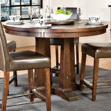 Pedestal Base For Dining Table Round Gathering Table With Pedestal Base By Intercon Wolf And