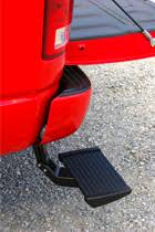 truck bed steps and hitch steps