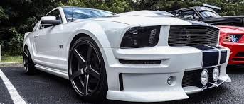 2007 mustang grill 05 09 mustang gt 1pc billet grille with fog light