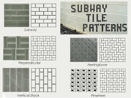 subway pattern tile perfect subway tile pattern design ideas for