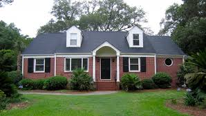 good exterior wood color for red brick house bluegreen color and