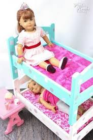 Barbie Bunk Beds E Wants A Doll Bunkbed Momma With Tools Farmhouse Doll Bunk Bed