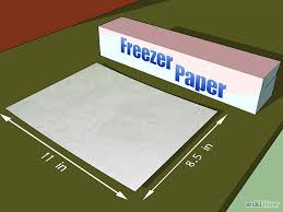 Where To Print Edible Images Print On Fabric Using Freezer Paper Freezer Paper Freezer And