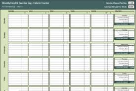 Diet Tracker Spreadsheet Calorie Tracker Spreadsheet