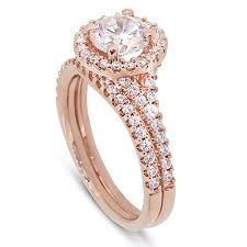 rose gold coloured necklace images Rose gold jewellery jpg