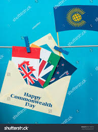 Commonwealth Flags Flag Commonwealth Nations Cis Envelope Countries Stock Photo