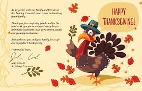 happy thanksgiving teamsters local 727