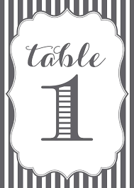 wedding table numbers template table number template free download 107 sets of free printable