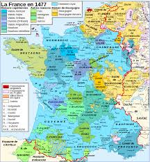 France Map Cities by