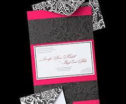 Red And Black Wedding Invitations Wedding Templates