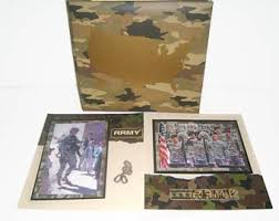army photo album graduation photo albums etsy studio