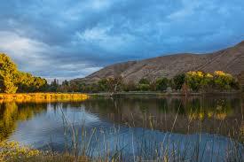 imagenes de paisajes lluviosos fondos de pantalla nublado lagos parques puestas de sol