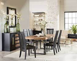 modern dining room table and chairs modern proximity dining room magnolia home