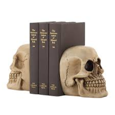skull bookends wholesale at koehler home decor