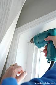How To Paint Wood Blinds Updating The Windows Faux Wood Blinds Installation Setting For Four