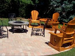 Paver Patio Kits by Exterior Pave Patio With Gas Fire Pit Paver Patio With Gas Fire