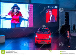 shanghai auto show 2017 lynk u0026 co 01 car editorial image image