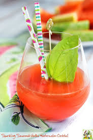 summer cocktail recipes sparkling savannah vodka watermelon cocktail this mama cooks on