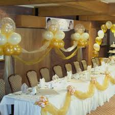 Table Decorating Balloons Ideas Wedding Table Balloon Decorations Ideas Weddingplusplus Com