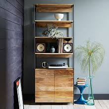 bookshelves with storage modern bookcases u0026 storage west elm