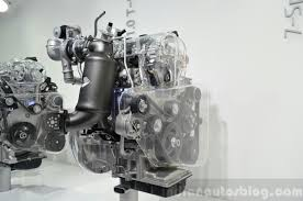 mitsubishi gdi engine hyundai kappa 1 0 litre t gdi three quarters angle indian autos blog
