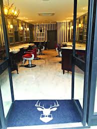 luxury surroundings at the stag grooming salon which king