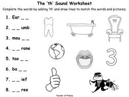 the u0027th u0027 sound animated powerpoint presentation and worksheet by