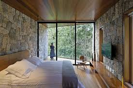 Interior Design Writer Writer U0027s Cave Like Retreat Surrounded By Raw Nature In Brazil