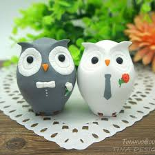 owl wedding cake topper artfire markets