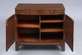 product georgian bow fronted side cabinet