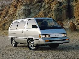 toyota vans 1984 toyota van information and photos momentcar