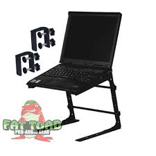dj laptop stand laptop computer stand for djs u0026 mobile disc