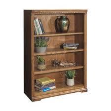 Cheap Oak Bookcases Solid Oak Bookcase Wayfair