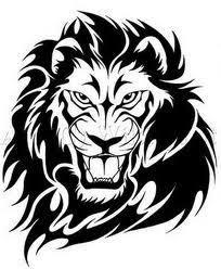 design modern tribal tattoos cross and tiger design ideas