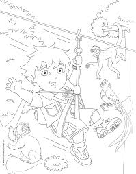 Diego Coloring Pages Coloring Pages To Print Go Diego Go Coloring Pages