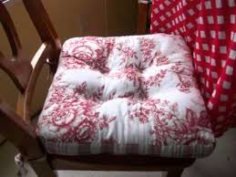kitchen chair cushions chair seat cushions collection youtube