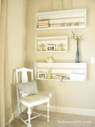 wooden crate wall shelves thrifty and chic diy projects and home decor