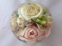 wedding flowers paperweight flower paperweight 3 5 inch