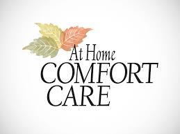 At Home Logo At Home Comfort Care Jim Trout Illustration U0026 Design