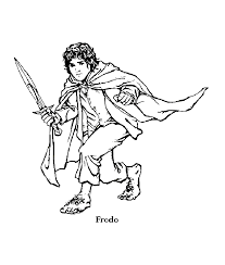 lord of the rings 3 the lord of the rings coloring pages