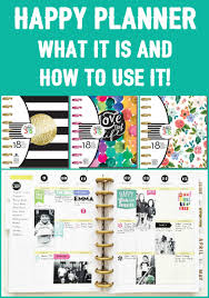 all about the happy planner happy planner planners and learning