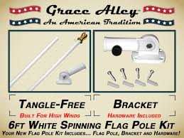 Wall Mounted Flag Pole American Flags By Grace Alley An American Tradition Is Your