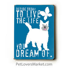live the life you love wooden signs with quotes